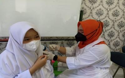 MAN 3 Palembang Kerja Sama Dinkes Palembang Vaksin 1 Siswa di MAN 3 Palembang