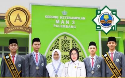 MAN 3 Palembang DItetapkan Dirjen Pendis Sebagai Madrasah Unggul Bidang Akademik