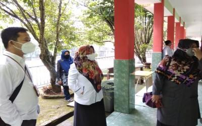 Tinjau Persiapan Belajar Tatap Muka, Kasubbag Humas Ditjen Pendis Kunjungi MAN 3 Palembang