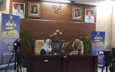 Siswa MAN 3 Palembang Diundang Podcast Balitbangda One Day One Innovation