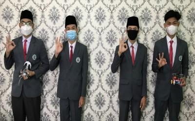 Tim Robotik SIswa MAN 3 Palembang Ikut Kompetisi Technocorner UGM 2021